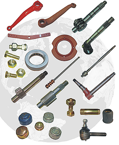 Stearing, Front & Rear Axle Parts